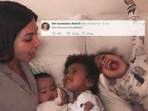 """Surogatka Kim Kardashian urodziła syna! """"Jest idealny"""""""