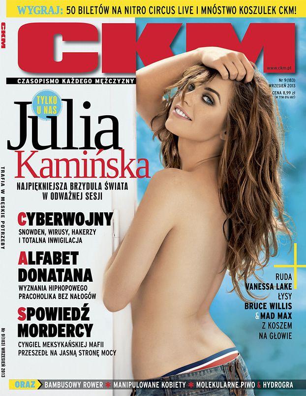 "Julia Kamińska TOPLESS w ""CKM-ie""! (FOTO)"