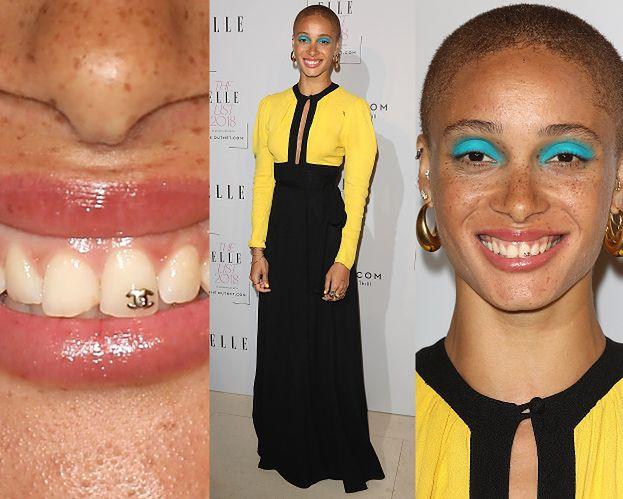 """""""Modelka roku"""" chwali się kolczykiem w zębie"""