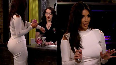 Pośladki Kim Kardashian zagrały w serialu!
