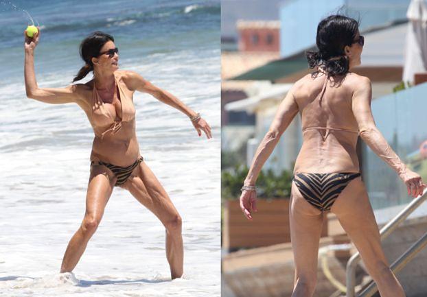 "Jurorka ""Top Model"" straszy na plaży?"