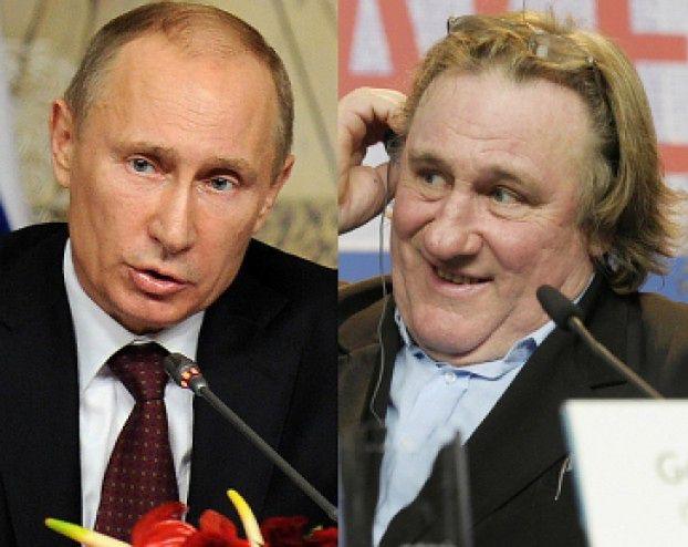 Putin przyznał Depardieu rosyjskie obywatelstwo!