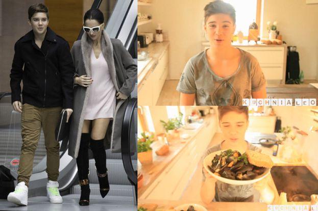 13-letni syn Steczkowskiej założył kulinarnego wideo-bloga!