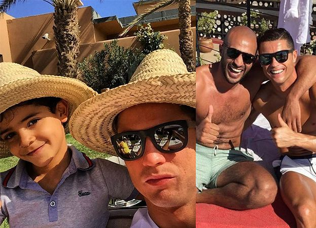 Ronaldo nadal ma romans z marokańskim kickbokserem?