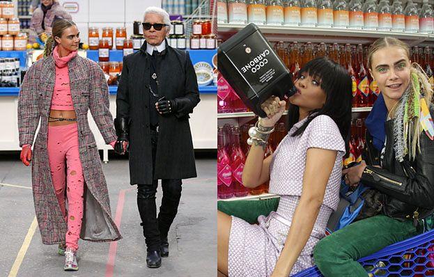 Rihanna na pokazie Chanel W SUPERMARKECIE! (FOTO)