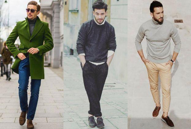 Z czym szary sweter łączą celebryci?