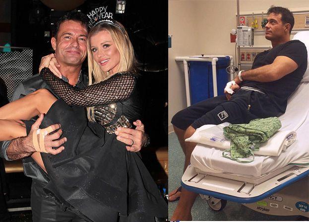 Krupa z mężem Sylwestra spędzili w szpitalu! (FOTO)