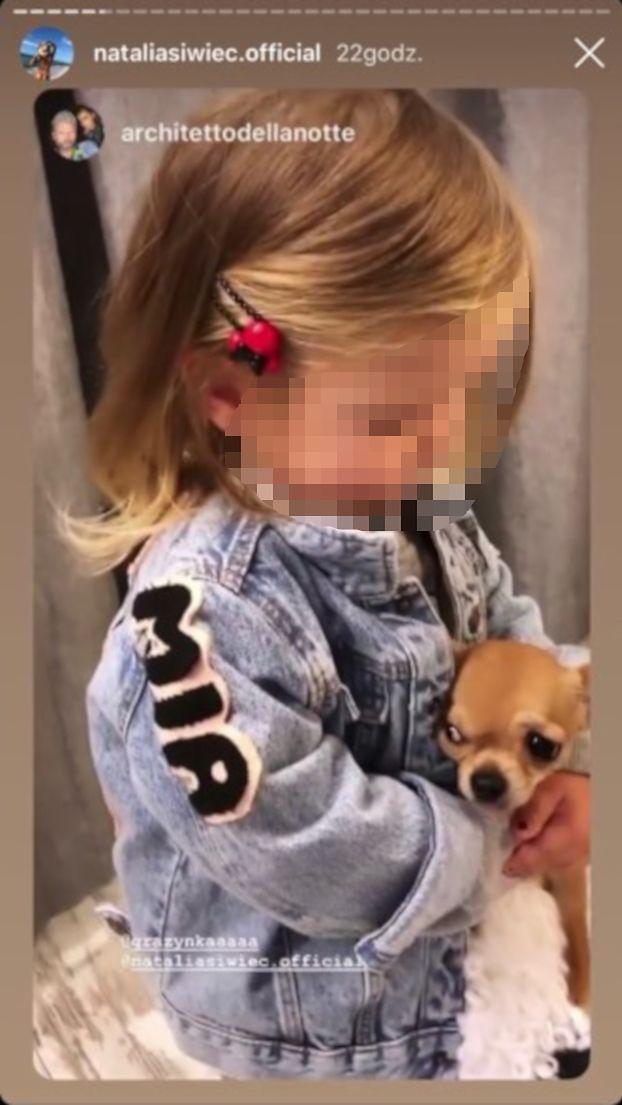 """Natalia Siwiec pozwala córce męczyć psa?! """"Mia TRZYMA PSA W TOREBCE? On jest przerażony!"""""""