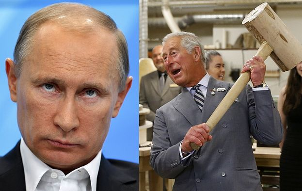 """Książę Karol o Putinie: """"JEST JAK HITLER!"""""""