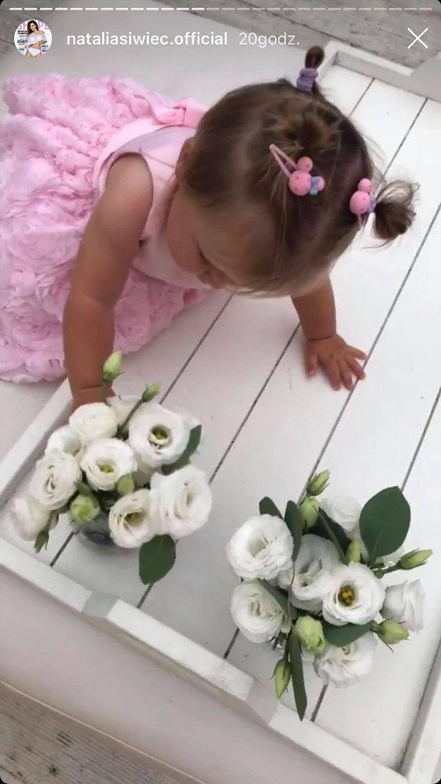 Pierwsze urodziny córki Natalii Siwiec: róż, jednorożce i baloniki (ZDJĘCIA)