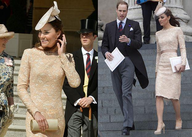 Kate Middleton w sukience McQueena sprzed dwóch lat! (ZDJĘCIA)