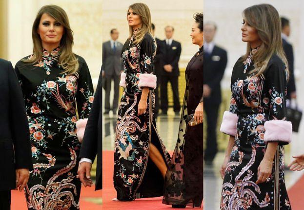 Melania Trump w sukni Gucci za 60 TYSIĘCY