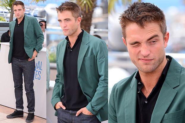 Pattinson promuje film w Cannes! PRZYSTOJNY?