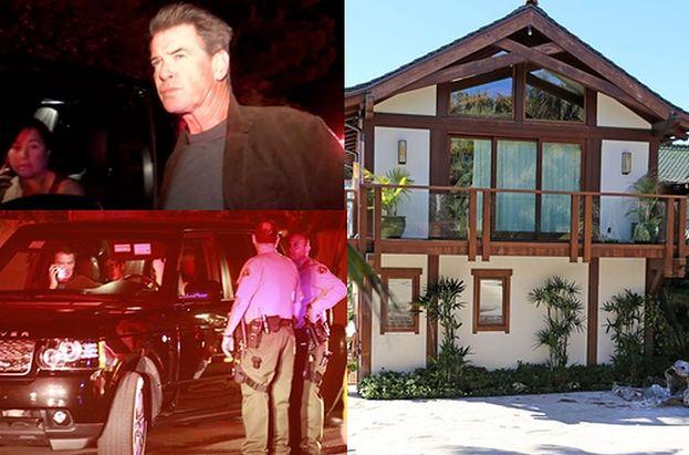 Spłonął dom Pierce'a Brosnana! Był wart ponad 18 milionów dolarów...
