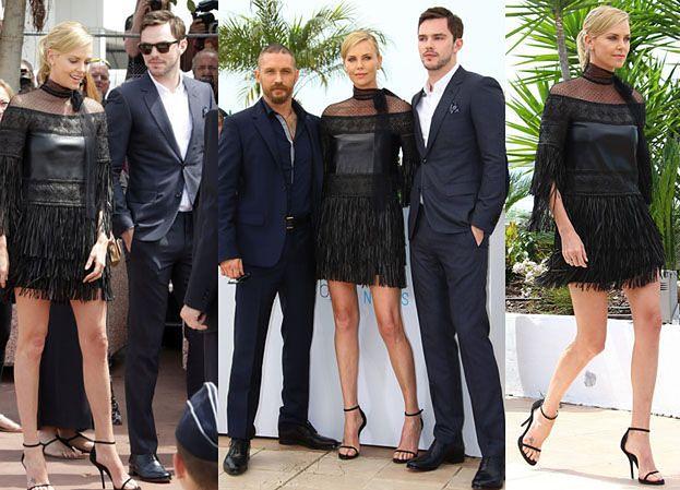 Hardy, Theron i Hoult na gali w Cannes (ZDJĘCIA)