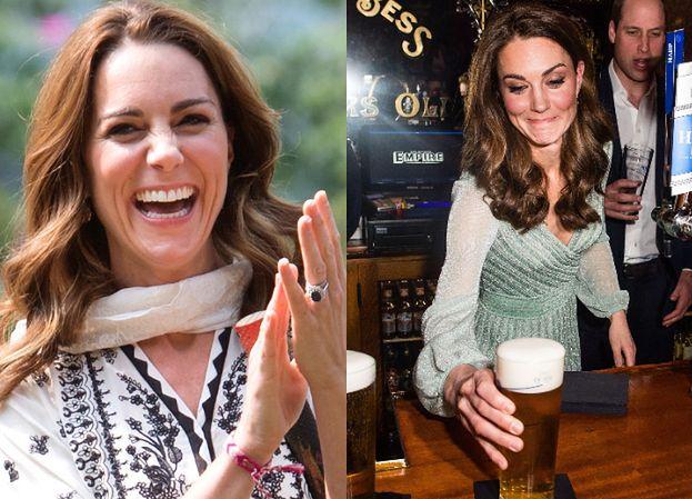 Księżna Kate znów wybrała się do pubu. By w spokoju sączyć drinka, musiała przejść przez SEKRETNE DRZWI