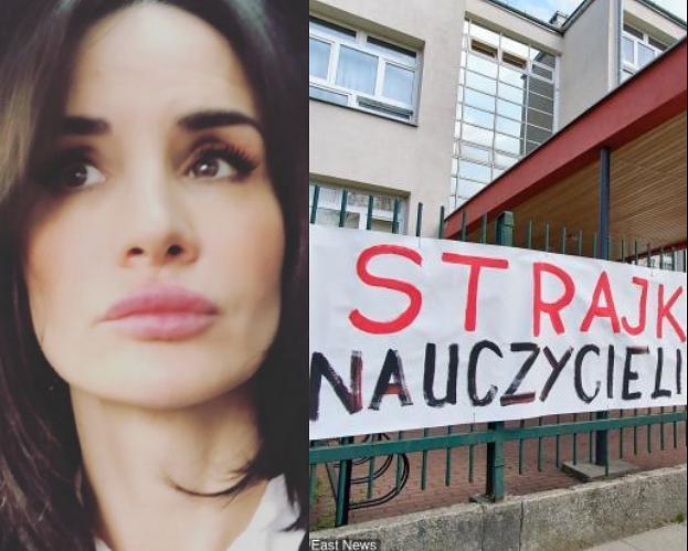 """Viola Kołakowska krytykuje kolegów wspierających strajk: """"Kolejna akcja, pod którą można się zareklamować i podpromować"""""""