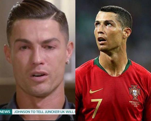 """Cristiano Ronaldo wybuchł płaczem po obejrzeniu nagrania ze zmarłym ojcem. """"Był pijakiem. Nigdy nie przeprowadziłem z nim NORMALNEJ KONWERSACJI"""""""