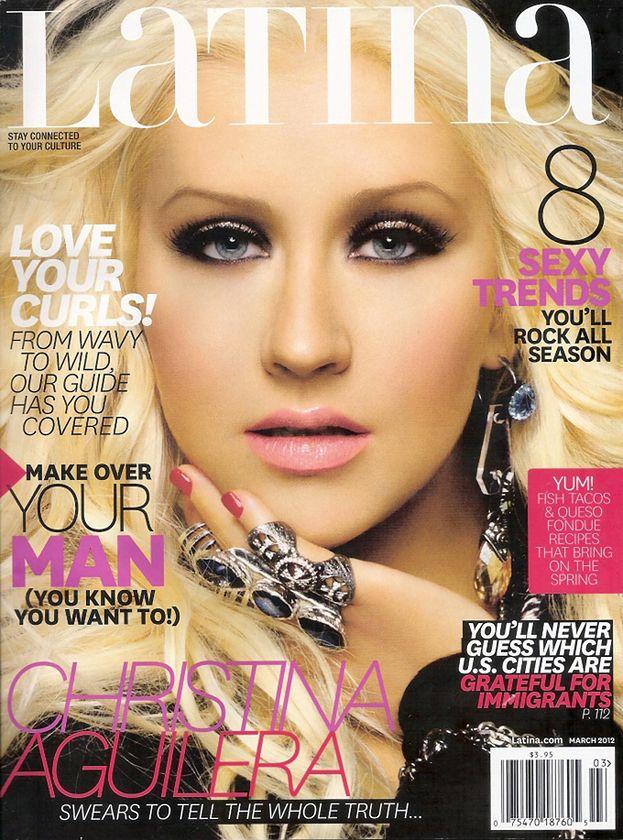 Retusz miesiąca: Wygładzona Aguilera