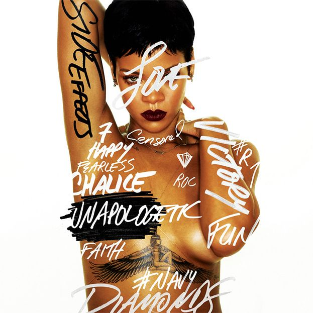 NAGA Rihanna na okładce nowej płyty!