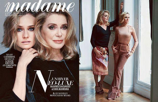Catherine Deneuve i Diane Kruger razem na okładce