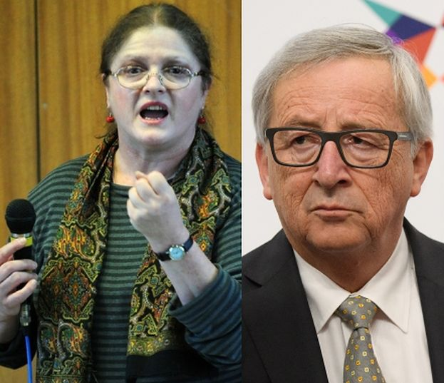 """Krystyna Pawłowicz pisze do przewodniczącego Komisji Europejskiej: """"Pana zachowanie wynika z CHOROBY ALKOHOLOWEJ!"""""""