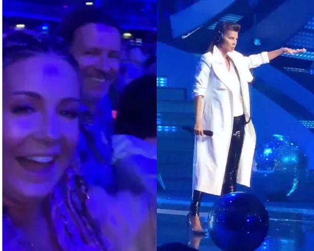 """Małgorzata Rozenek bawi się na koncercie Edyty Górniak na Top of the Top Sopot Festival: """"To jest to premierowe? Mam wrażenie, że JUŻ SŁYSZAŁAM TĘ PIOSENKĘ"""""""
