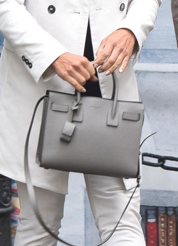Elegancka Kinga Rusin z torebką za 8 tysięcy