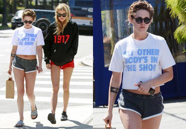Zaniedbana Kristen Stewart spaceruje z dziewczyną