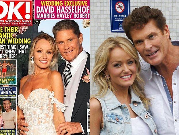 """David Hasselhoff poślubił młodszą o 27 lat modelkę! """"Cieszymy się, że możemy się tym podzielić"""""""