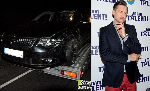 Marcin Prokop miał wypadek! (FOTO)