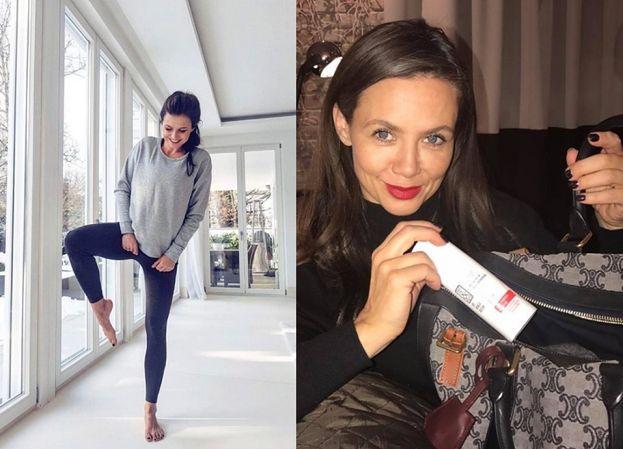 Anna Lewandowska reklamuje kremy Rusin i... legginsy (FOTO)