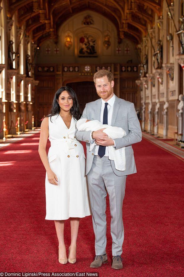 Meghan Markle i książę Harry POKAZALI SYNKA! (FOTO)