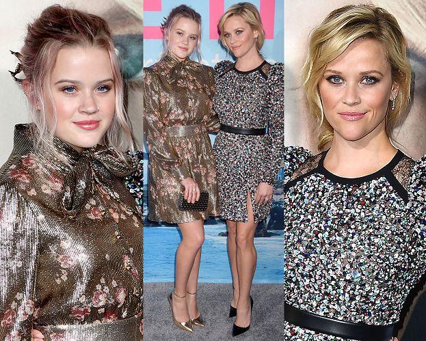 Reese Witherspoon pozuje z córką