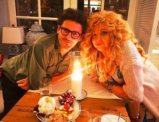Magda Gessler i Kuba Wojewódzki knują przy blasku świec (FOTO)