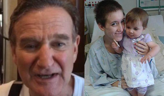Robin Williams spełnił marzenie chorej kobiety!