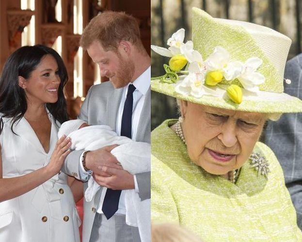 Królowa Elżbieta NIE POJAWI SIĘ na chrzcinach Archiego. Meghan Markle nie chciała jej na uroczystości?