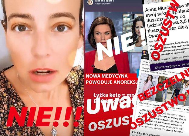 """Anna Mucha padła ofiarą oszustwa? """"Nie wierzcie w to, że ja wam wciskam tego typu kity!"""""""