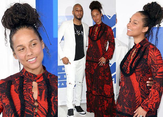 Alicia Keys bez makijażu na gali MTV (ZDJĘCIA)