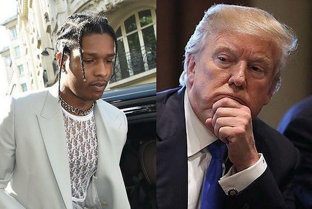 ASAP Rocky ZOSTAJE W ARESZCIE! Wstawiennictwo Trumpa nie pomogło...