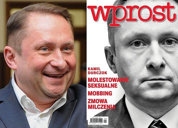 """Kamil Durczok wygrał z """"Wprost""""! Dostanie... 500 tysięcy złotych!"""