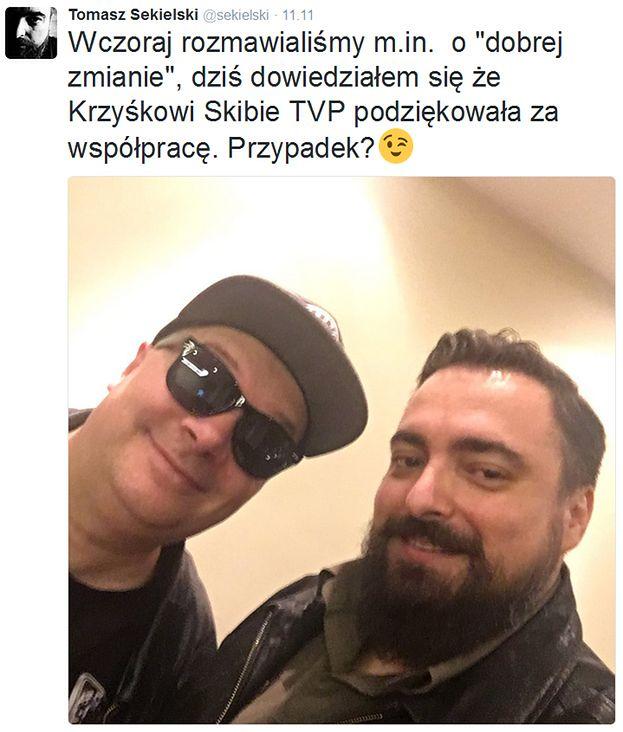 Skiba Wyleciał Z Tvp Za Wiersz O Ekshumacjach Wykopać
