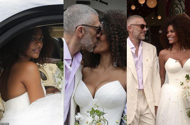 51-letni Vincent Cassel ożenił się z 21-letnią modelką! (ZDJĘCIA)