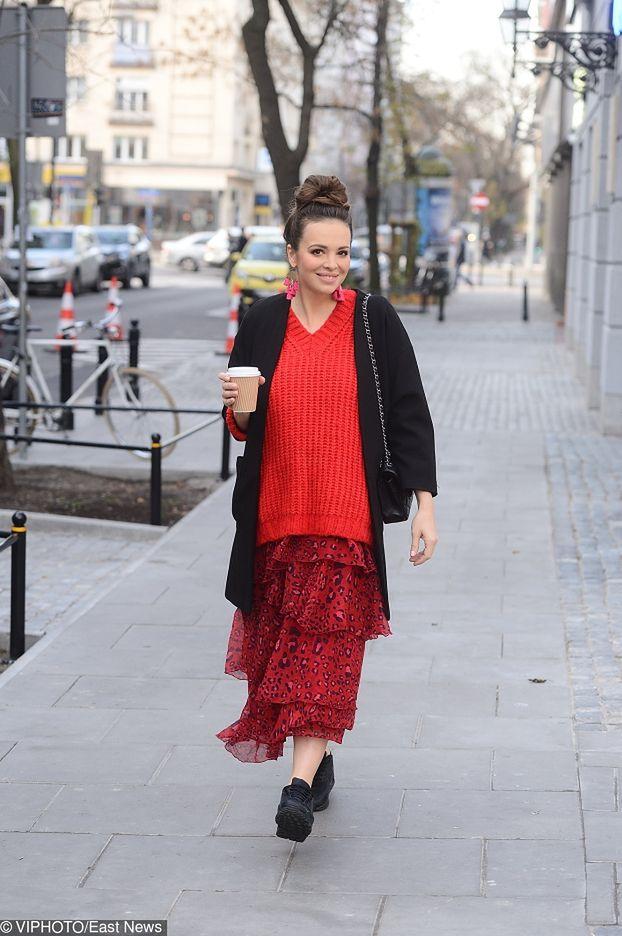 Zadowolona Wendzikowska wraca do pracy sześć dni po porodzie (ZDJĘCIA)