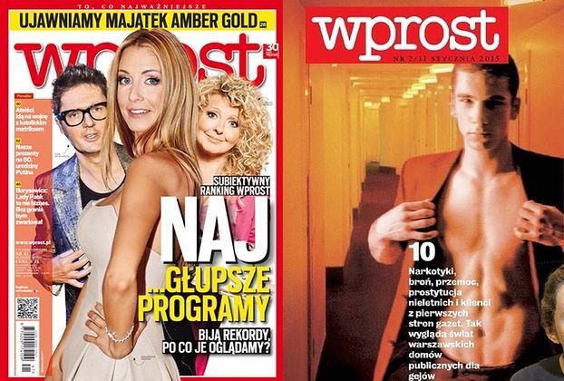 """Wprost"" atakuje: Znany showman korzysta z usług... MĘSKICH PROSTYTUTEK!"