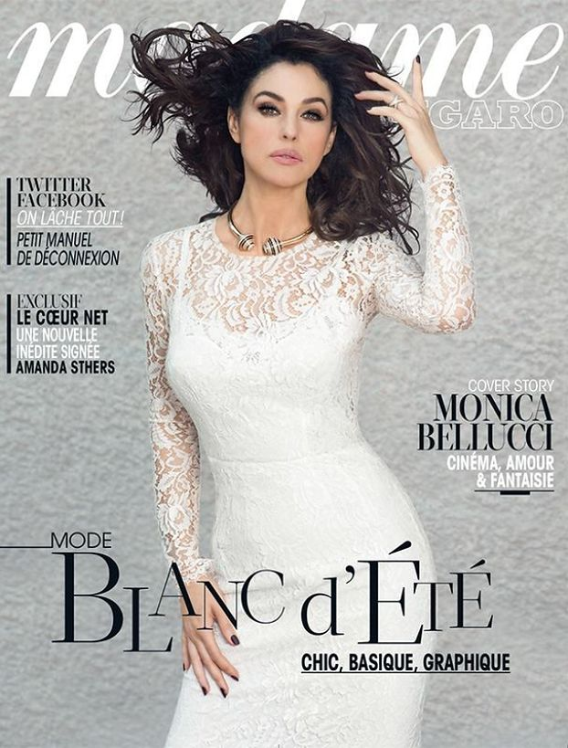 Monica Bellucci w koronkach
