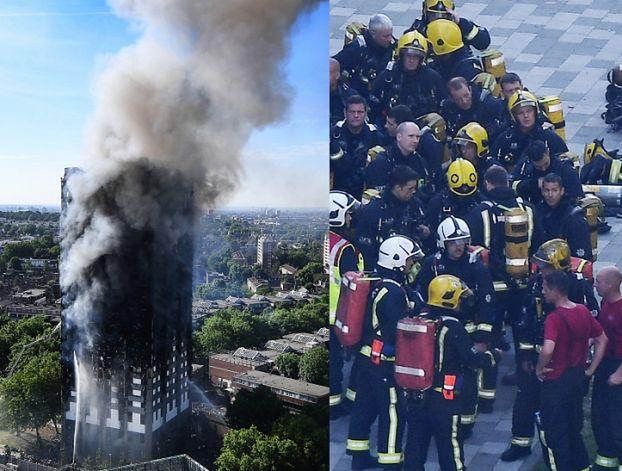 Niemowlę przeżyło pożar wieżowca w Londynie, bo matka... wyrzuciła je z okna!