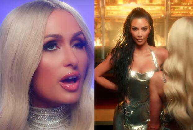 Kim Kardashian pojawiła się w nowym teledysku Paris Hilton! (WIDEO)