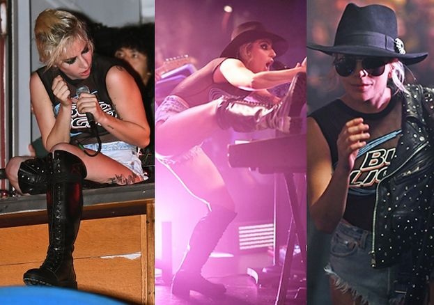 Lady Gaga bez stanika promuje nową płytę (ZDJĘCIA)