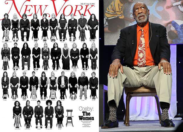 35 ofiar Billa Cosby'ego razem na okładce! (FOTO)